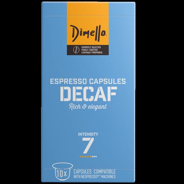 Кафе капсули DECAF