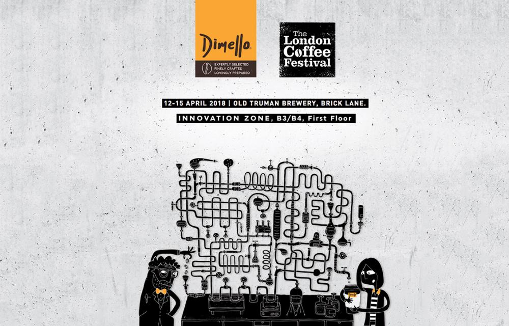 - DIMELLO @ LONDON COFFEE FESTIVAL 2018!