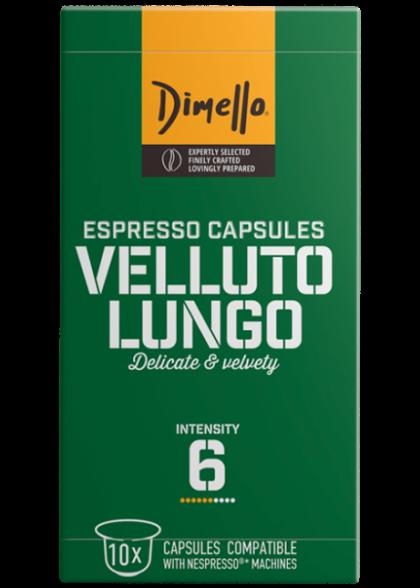 Кафе капсули VELLUTO LUNGO