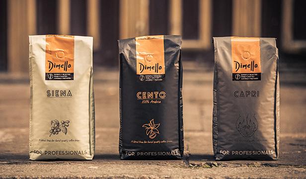 КАфе цели зърна смес Димело